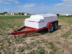 2021 Industrias Agricolas 700 Gallon T/A Fuel Trailer