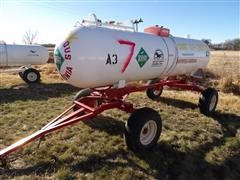 Duo Lift Anhydrous Nurse Tank Trailer