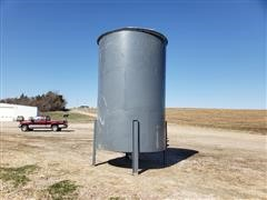 4500-Gal Tapered Bottom Stainless Steel Tank