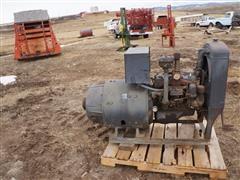 10 KW Single Phase Gas Powered Generator (INOPERABLE)