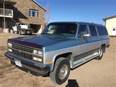 1989 Chevrolet 1500 Silverado 4x4 Suburban