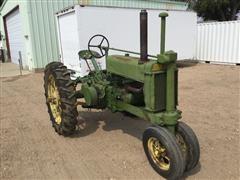 1936 John Deere A 2WD Tractor