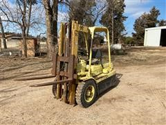 Hyster HE50 Forklift (INOPERABLE)