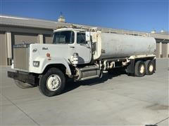 1980 Mack SuperLiner RWS767LT T/A Water Truck