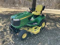 2017 John Deere X730 Lawn Tractor W/Mower Deck