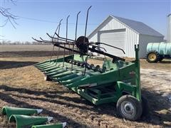 C/M Custom 1042 Corn Head W/reel & Trailer