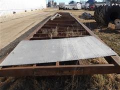 Semi Trailer Frame Pivot Bridge