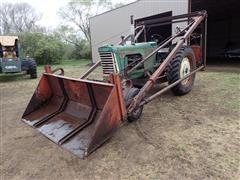 1958 Oliver 770 2WD Tractor W/Farmhand Loader