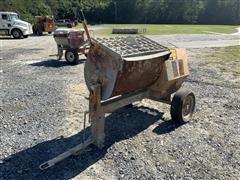 Stone Portable Tow Behind Mortar Mixer
