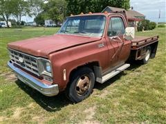 1978 Chevrolet Custom Deluxe 30 2WD Dually Flatbed Pickup