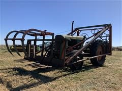 1952 Oliver Row Crop 88 2WD Tractor W/Loader