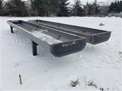 2021 Mack Steel 20' Steel Feed Bunks