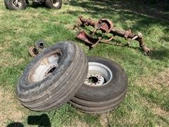 International WideFront End w/ Tires
