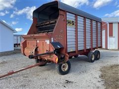 1997 H&S HD Twin Auger Forage Wagon