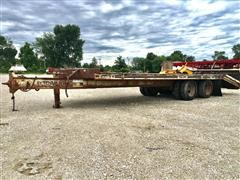 1986 Trail King TK18 T/A Flatbed Trailer