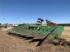 1989 John Deere 843 8R30 Corn Head W/Header Trailer