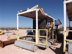 Caterpillar 3412 Diesel Power Unit Mounted On Roll-off Skid
