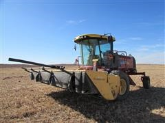 2013 New Holland H8080 Self-Propelled Windrower W/Durabine Conditioner Head