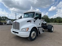 2010 Kenworth T370 S/A Truck Tractor