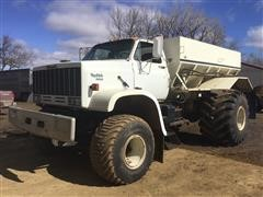 1984 GMC TopKick 7000 Floater Fertilizer Spreader Truck