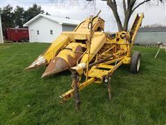 Minneapolis-Moline H350 2 Row Corn Picker - Husker
