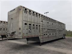 1998 Wilson PSDCL-302 50' T/A Aluminum Livestock Trailer