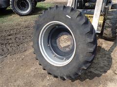Case IH MX110 14.9R30 Front Tire & Rim
