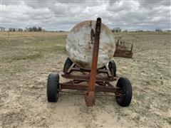 1950 Butler 605-Gallon Propane Tank On Running Gear