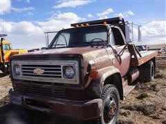 1976 Chevrolet 16'+2' S/A Flatbed Truck (INOPERABLE)