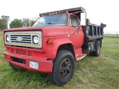 1985 Chevrolet C70 S/A Dump Truck