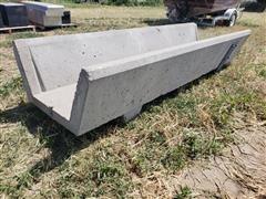 Concrete Feed Bunk
