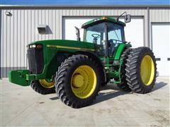 1998 John Deere 8100 MFWD Tractor