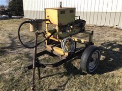 T-L PTO Hydraulic Pump On Cart