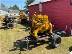 Minneapolis-Moline 4-1/2x5 - 283A-4 Power Unit On Cart