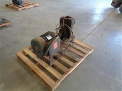Century 7.5 HP 3-Phase Motor & Water Pump