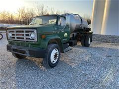 1989 GMC TopKick C7500 Fertilizer Tanker Truck
