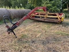 1990 New Holland 499 Swing Tongue Windrower