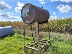 Butler Fuel Barrel & Stand