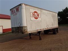 """1986 Trim Van S/A 28' X 102"""" Enclosed Trailer"""