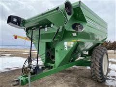 J&M 750 -18 Grain Cart