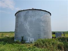 York 6,000 Bushel Grain Bin
