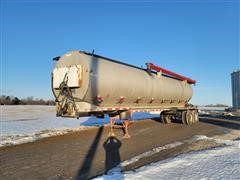 1987 Warren 24 Ton T/A Bulk Feed Trailer