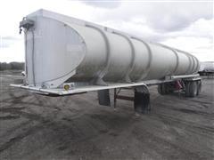 1968 Fruehauf TAGF2FC 8500 Gallon T/A Aluminum Tanker Trailer