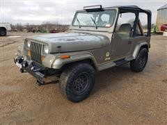 1989 Jeep Wrangler Sahara 2 Door Sport Utility Vehicle