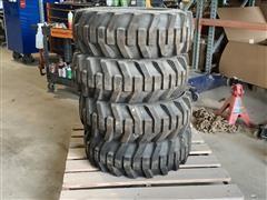 Galaxy XD2010 10 X 16.5 Solid Skid Steer Tire & Rim Assemblies