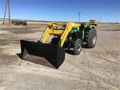 Deutz D45 06 MFWD Tractor W/Loader