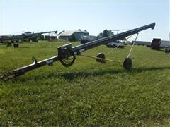 """Hutchinson 8"""" X 40' Loadout Auger W/5 Hp Electric Motor"""