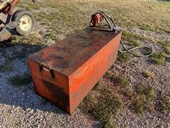 100 Gallon Portable Fuel Tank W/Electric Pump