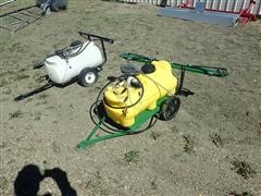 25 Gallon Pull Type Sprayers