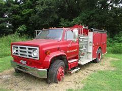1989 GMC Fire Truck